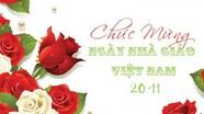 Bí thư Tỉnh ủy gửi thư chúc mừng nhân ngày Nhà giáo Việt Nam 20/11/2019