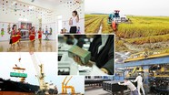 [Infographics] Kết quả thực hiện các chỉ tiêu kinh tế - xã hội chủ yếu năm 2019 của Nghệ An