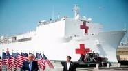 Tàu bệnh viện có giúp Mỹ giảm điểm nóng dịch bệnh?