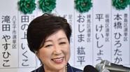 Nữ thị trưởng Yuriko Koike - 'Bông hồng thép' chính trường Nhật Bản