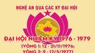 Nghệ An qua các kỳ Đại hội: Đại hội đại biểu Đảng bộ tỉnh nhiệm kỳ 1976 - 1979