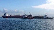 Chìm tàu chở dầu ở Trung Quốc, 32 người mất tích