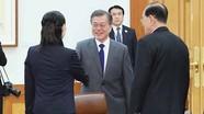Tổng thống Hàn Quốc và cuộc gặp đặc biệt với ông Kim Yong-nam và em gái ông Kim Jong-un