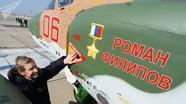 Máy bay Su-25 của Nga được mang tên người phi công Roman Philipov đã hy sinh ở Syria