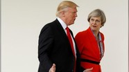 Ông Donald Trump điện đàm với Thủ tướng Anh về thỏa thuận hạt nhân Iran