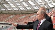 """World Cup chứng tỏ Nga không thể bị lệnh trừng phạt của phương Tây """"giam hãm"""""""