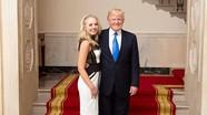 Điều ít biết về con gái người mẫu 9x của Tổng thống Mỹ Donald Trump