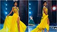 Váy dạ hội vàng của H'Hen Niê được bình chọn đẹp nhất Miss Universe 10 năm qua