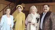 Trương Thị May mặc áo dài truyền thống khiến công chúa Bỉ trầm trồ