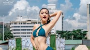 Á Hậu Kiều Loan lọt top 10 bình chọn áo tắm ở Miss Grand