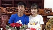 Đang mùa dịch Covid-19, tuyển thủ xứ Nghệ Phan Văn Đức tổ chức sinh nhật tại nhà