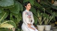 Ngọc Hân bức xúc vì bị shop online đạo thiết kế áo dài, bán giá rẻ