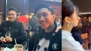 Đức Chinh và bạn gái đi chơi tối cùng với Quang Hải, Văn Hậu