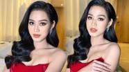 Hoa hậu Việt Nam Đỗ Thị Hà chuộng phong cách gợi cảm, khoe khéo vòng 1