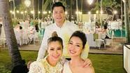 Bức ảnh Quang Dũng cùng tình cũ Thanh Thảo và vợ cũ Jennifer Phạm gây 'sốt'