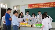 Tự sản xuất nước sát khuẩn, trường học ở Nghệ An tiết kiệm hàng trăm triệu đồng