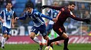 Messi đá dự bị, Barca đứt mạch thắng tại La Liga