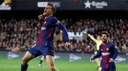Xem Coutinho lập siêu phẩm, Barca thắng trận cầu chia tay Iniesta