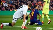 Hàng công im tiếng, Barca chia điểm với Getafe ở La Liga