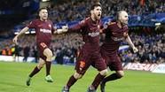 Messi ghi bàn, Barca giành tỷ số hòa trên sân của Chelsea