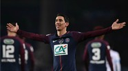 Di Maria tỏa sáng, PSG đè bẹp Marseille dù vắng Neymar