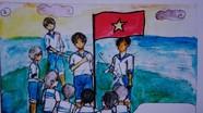 Tái hiện trận chiến Gạc Ma bằng truyện tranh của những học sinh yêu lịch sử