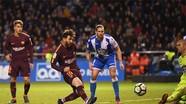 Messi lập hat-trick, Barca đăng quang La Liga sớm bốn trận