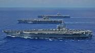 Mỹ thay đổi việc triển khai tàu sân bay đối phó Trung Quốc như thế nào?