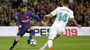 Barca bất phân thắng bại với Real trên sân Nou Camp