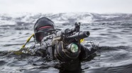 Đã mắt với hình ảnh đặc nhiệm Nga diễn tập chống khủng bố tại Bắc Cực