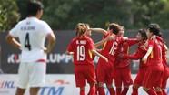 Tuyển nữ Việt Nam vào bán kết trong khi U19 dừng bước ở giải Đông Nam Á