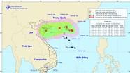 Áp thấp trên Biển Đông có thể mạnh lên thành bão, Bắc Trung Bộ mưa lớn