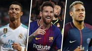Messi vượt Ronaldo; Neymar ghi danh lịch sử; Harry Kane = Bale + 100 triệu euro