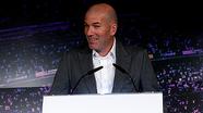 Zidane trở lại dẫn dắt Real Madrid