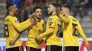 Hazard lập cú đúp, Bỉ khởi đầu suôn sẻ ở vòng loại Euro 2020
