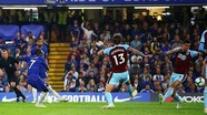 Hòa Burnley, Chelsea chiếm vị trí thứ 4 từ tay Arsenal