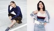 Chi Pu biến hóa phong cách với giày thể thao