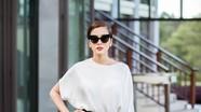 Tăng Thanh Hà 'hút mắt' với thời trang đen-trắng
