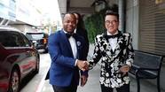 Mr Đàm lần đầu dự lễ trao giải Grammy ở Mỹ