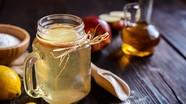 6 công thức nước uống với giấm táo giúp da đẹp, dáng thon