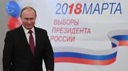 Putin chiến thắng kỷ lục với hơn 76% số phiếu bầu
