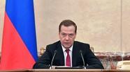 Quyền Thủ tướng Nga Medvedev đề cử thành lập Chính phủ mới