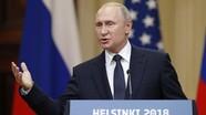 Tổng thống Putin: Nga không sở hữu bất kỳ tài liệu nào gây tổn hại đến ông Trump