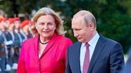 Tổng thống Putin dự đám cưới Ngoại trưởng Áo