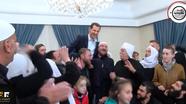 Giải phóng khỏi IS, người dân Syria kiệu tổng thống ăn mừng