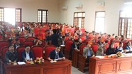 Quỳnh Lưu, Anh Sơn: Công bố kết quả lấy phiếu tín nhiệm các chức danh do HĐND huyện bầu