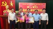 Trao Huy hiệu Đảng cho các đảng viên ở Đô Lương, Tân Kỳ