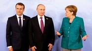 'Bộ ba' Putin, Macron và Merkel thảo luận về 'chính sách tai hại' ở Ukraine