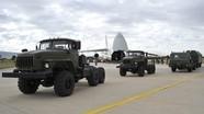 Nga vận chuyển thành công tên lửa S-400 tới Thổ Nhĩ Kỳ