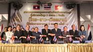 Ký kết biên bản Hội nghị trù bị 9 tỉnh 3 nước Việt Nam - Lào - Thái Lan